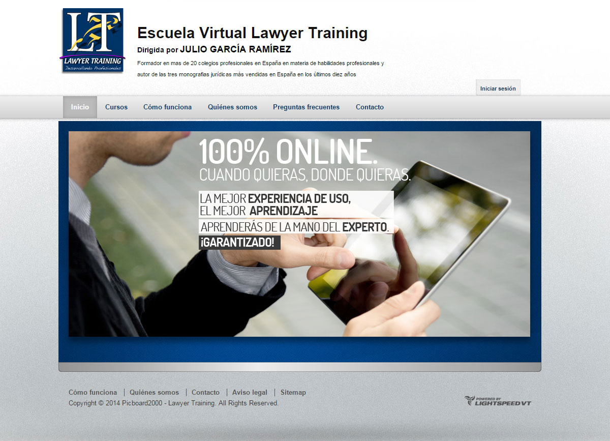 Escuela Virtual Lawyer Training